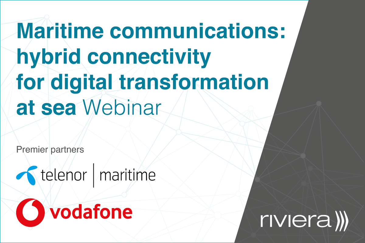 Maritime communications: hybrid connectivity for digital transformation at sea