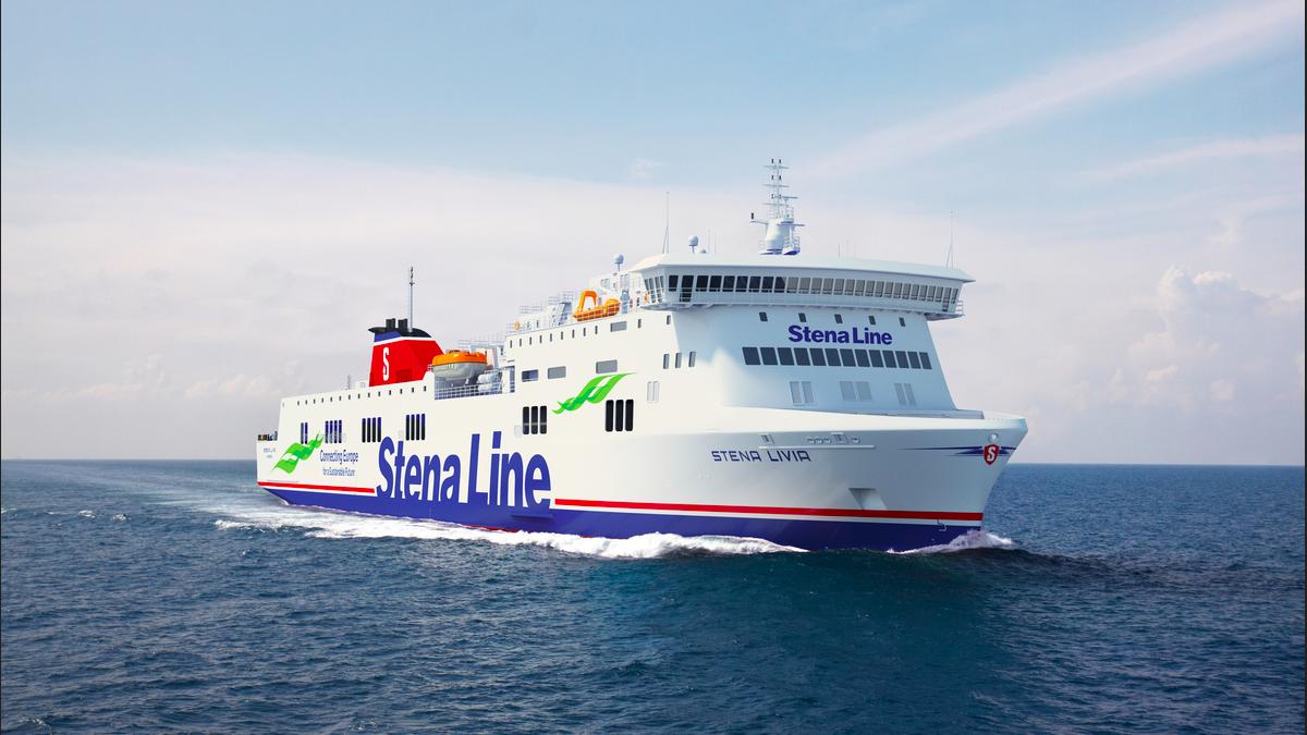 Stena Livia joins Baltic Sea fleet