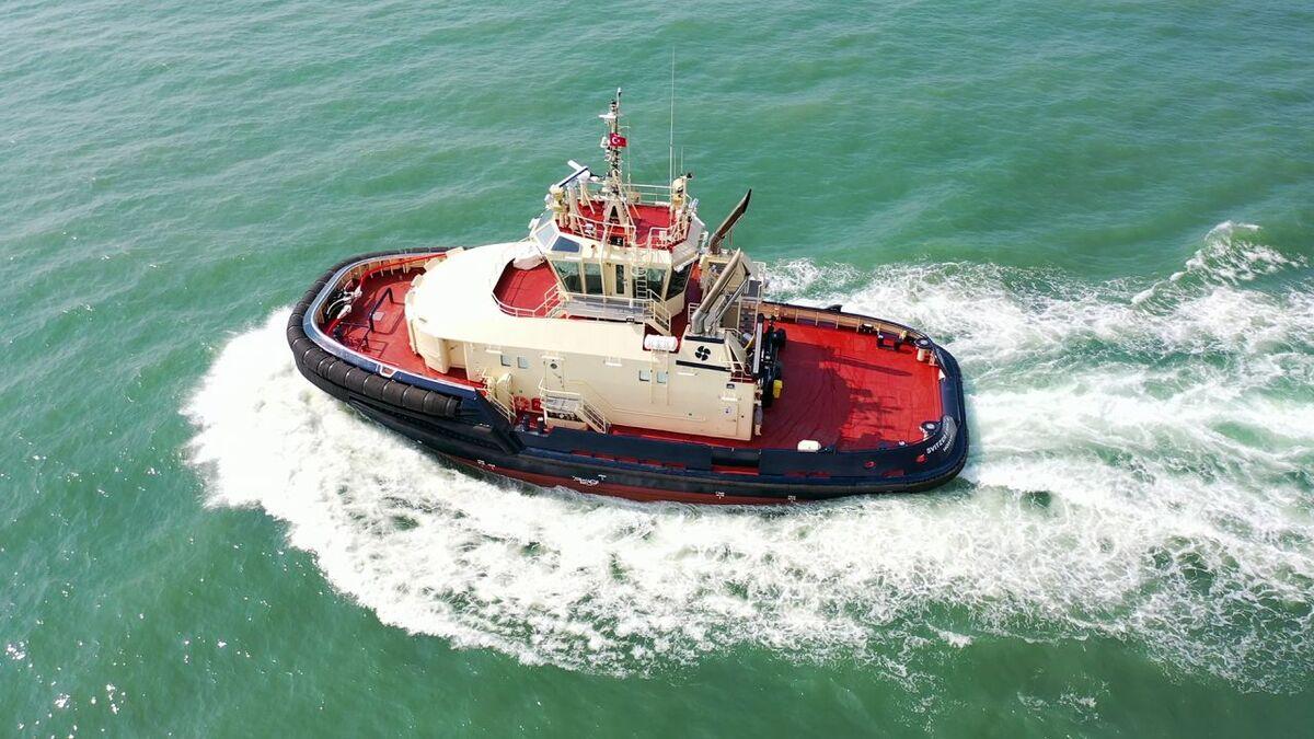 Svitzer Edda (yard number ER85) starts sea trials (source: Med Marine)