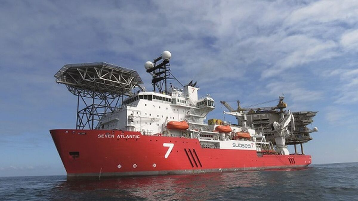 Royston serviced engines on Subsea 7's Seven Atlantic (source: Subsea 7)