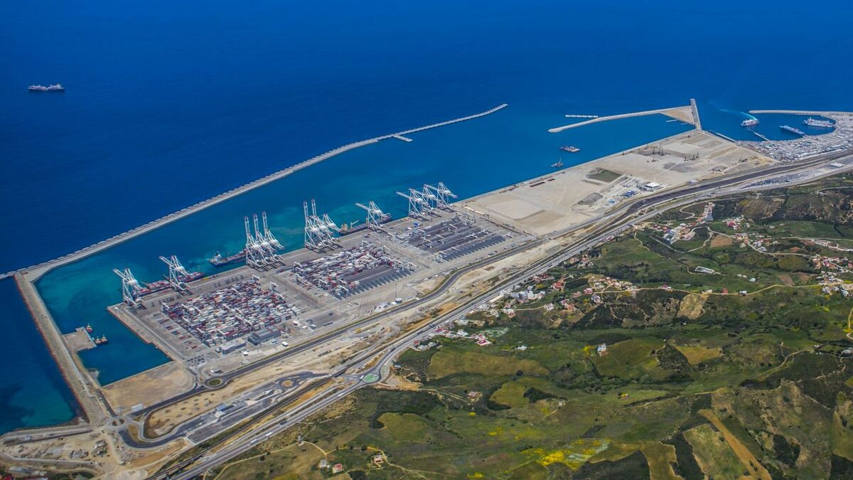 Tanger Med container terminal will be part of a smart port (source: Wartsila/Tanger Med)