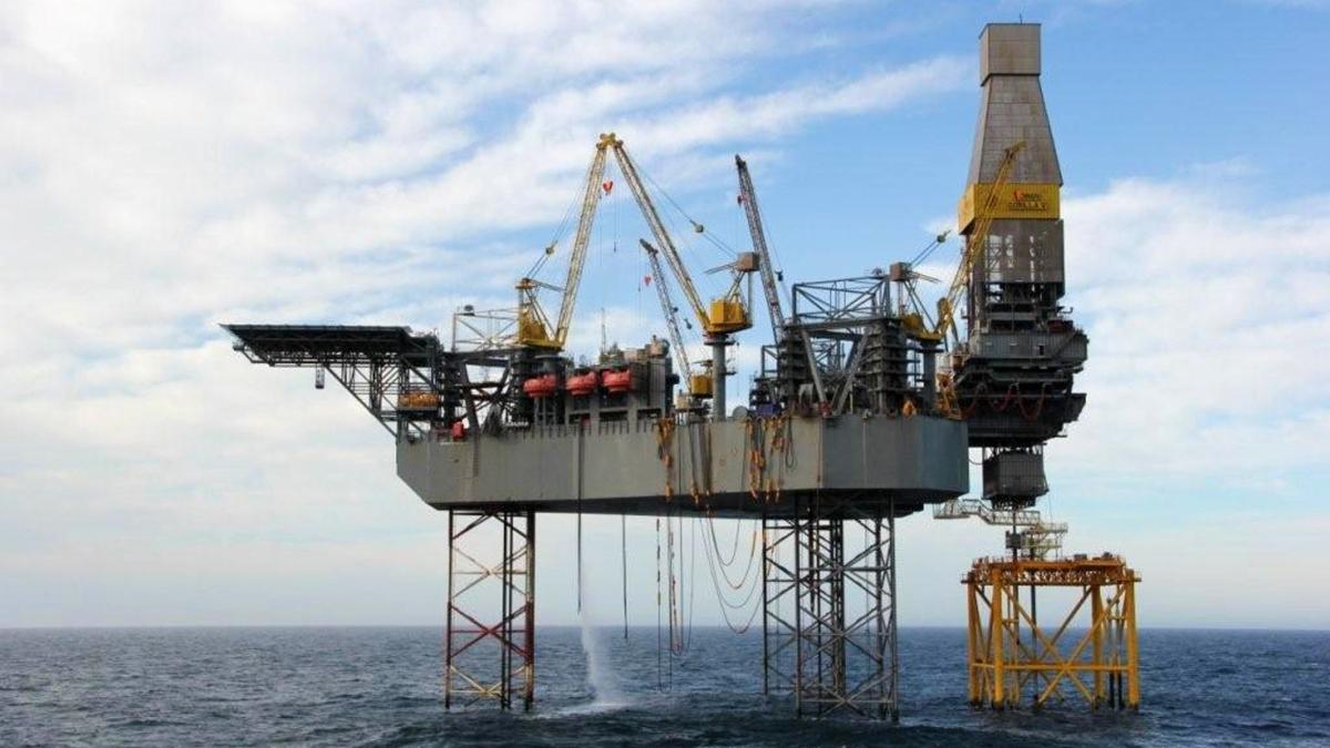 Valaris JU-247 (ex Gorilla V) will drill for DNO in the North Sea for 400 days (source: Total)