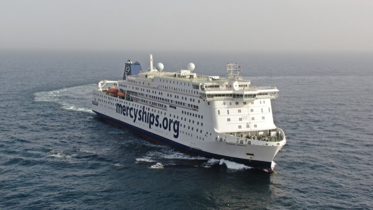 Stena completes sea trials for hospital ship Global Mercy