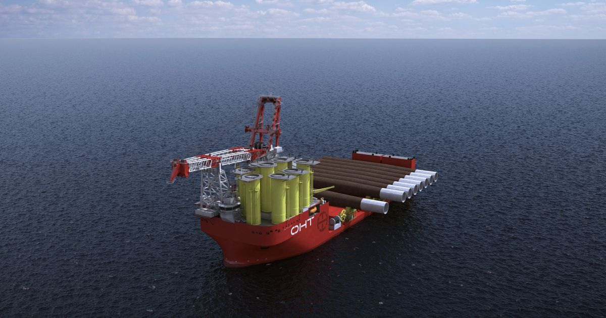 """Alfa Lift will be a 'game changer"""" for the offshore wind industry (source: Liebherr)"""