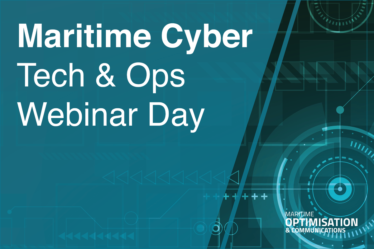 Maritime Cyber Tech & Ops Webinar Day