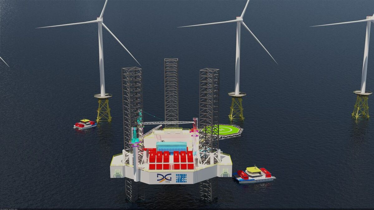 The H2MOPU from DYG Energy and Zentech Incorporated would enable production, storage and bunkering of hydrogen at sea