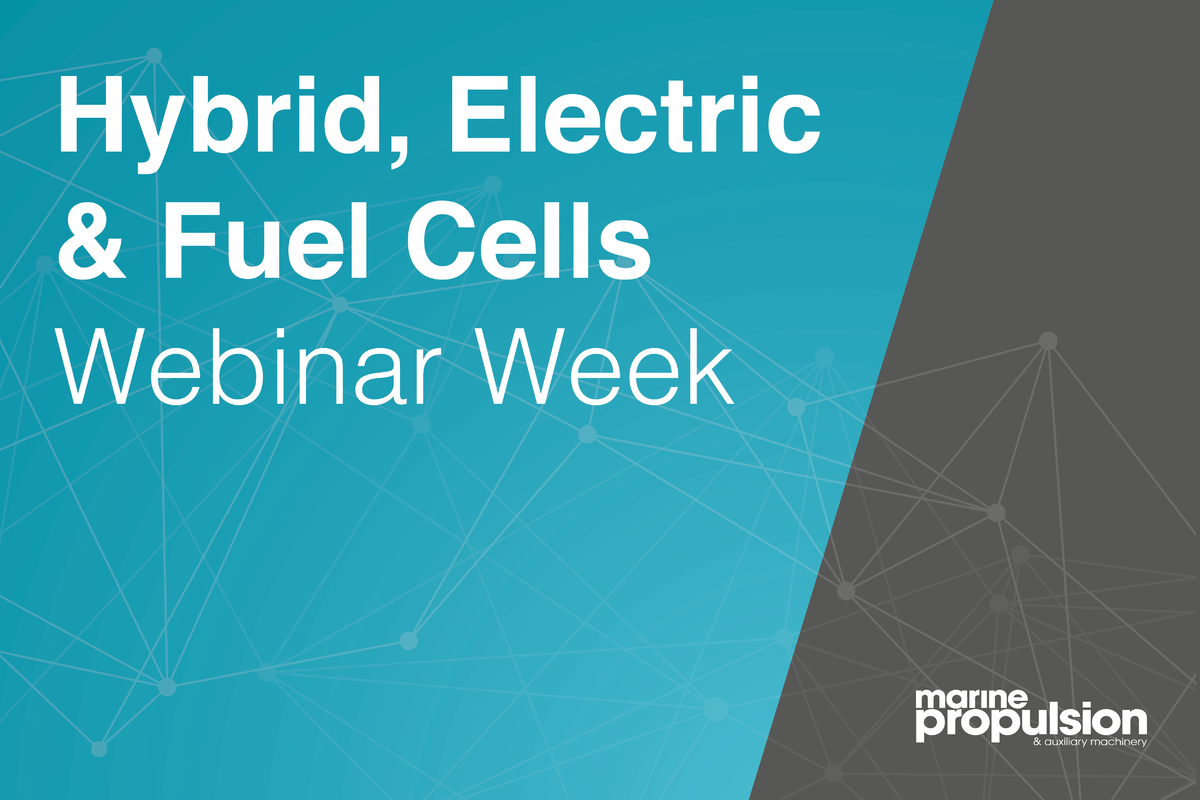 Maritime Hybrid, Electric and Fuel Cells Webinar Week