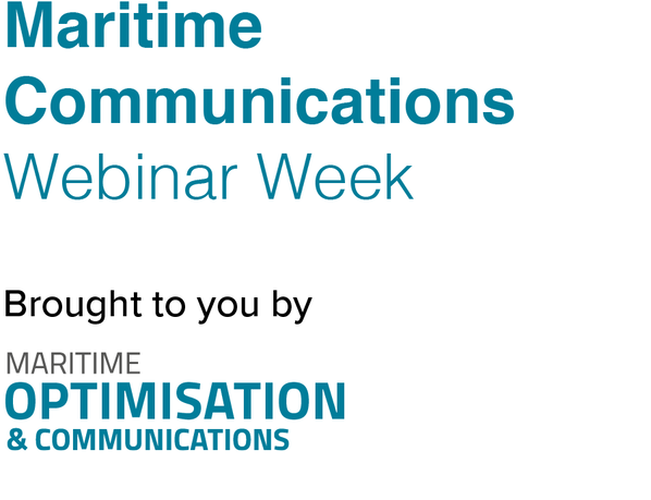 Maritime Communications Webinar Week