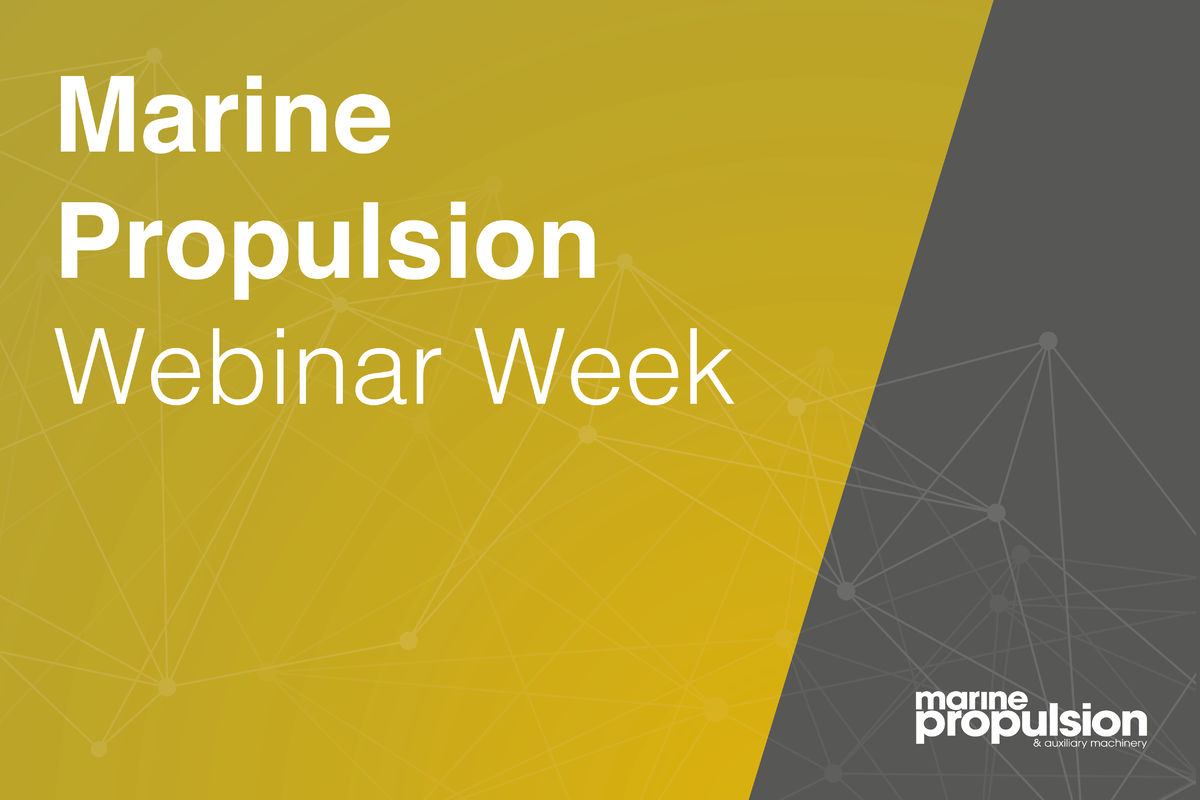 Marine Propulsion Webinar Week