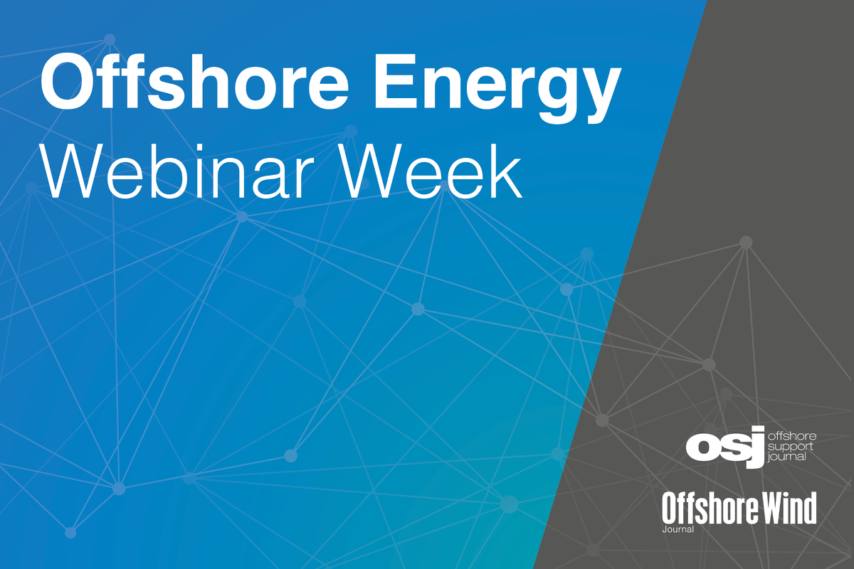 Offshore Energy Webinar Week