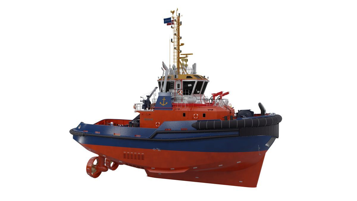 Danish port tug built with hybrid innovation