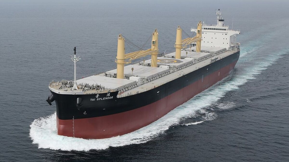 A trial using SSV was completed on Handymax bulk carrier Tai Splendor (source: TN)