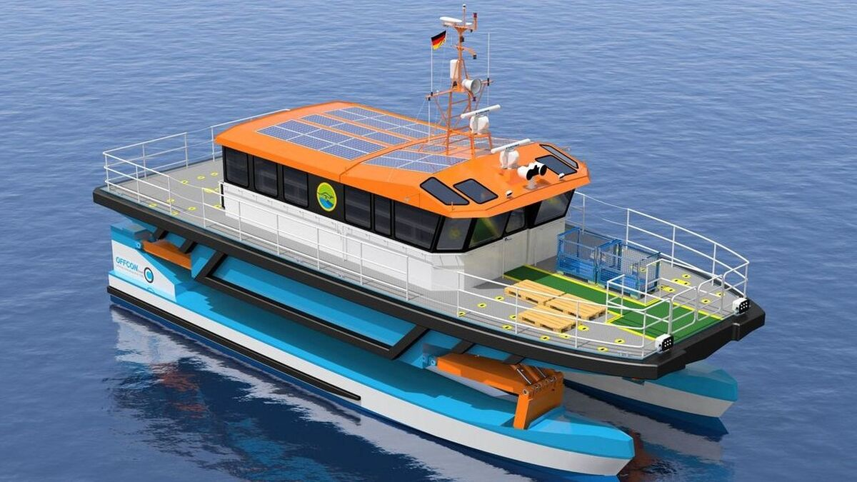 EnBW to test 'game-changing' crew transfer vessel on Baltic-1 and 2