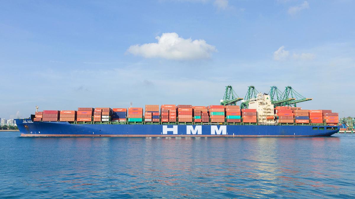 Hyundai Forward, the 5,000-TEU vessel operated on the CIX (China India Express) service, calling at India (source: HMM)