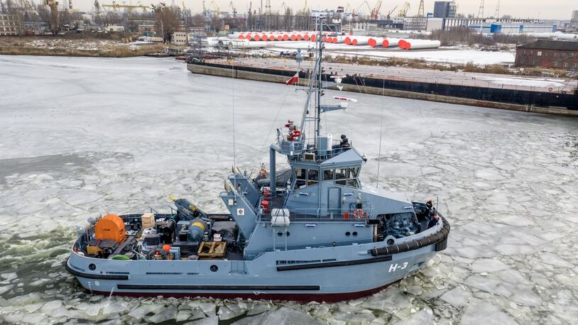 Box coolers and growth prevention deployed on naval tug fleet