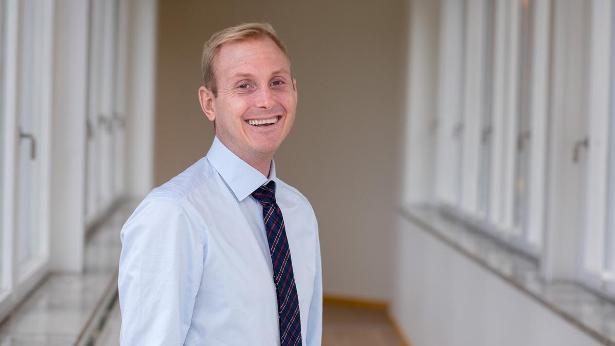 Alfa Laval's Head of Marine Separation, Viktor Friberg (Source: Alfa Laval)
