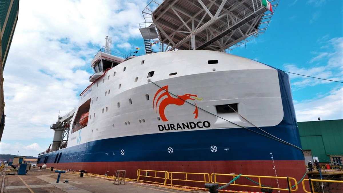 The FPSO Blue Eagle will go to work in the Mexican Gulf for Pemex (source: Armon Shipbuilding)