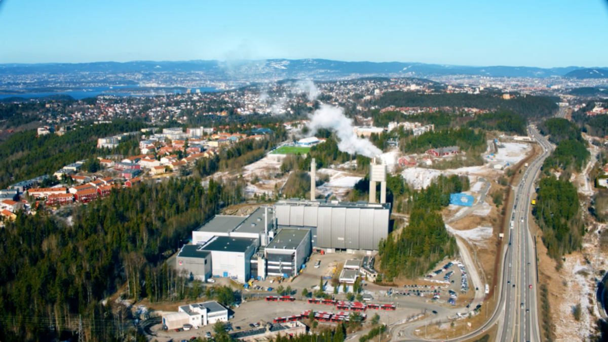 Fortum plans to capture 400,000 tonnes of CO2 from its energy recovery plant in Oslo (source: CCS Norway)