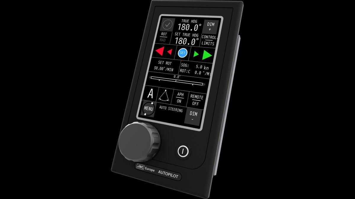 AlphaPilot MFS-VR has a 5-in multi-colour touchscreen display (source: Alphatron)