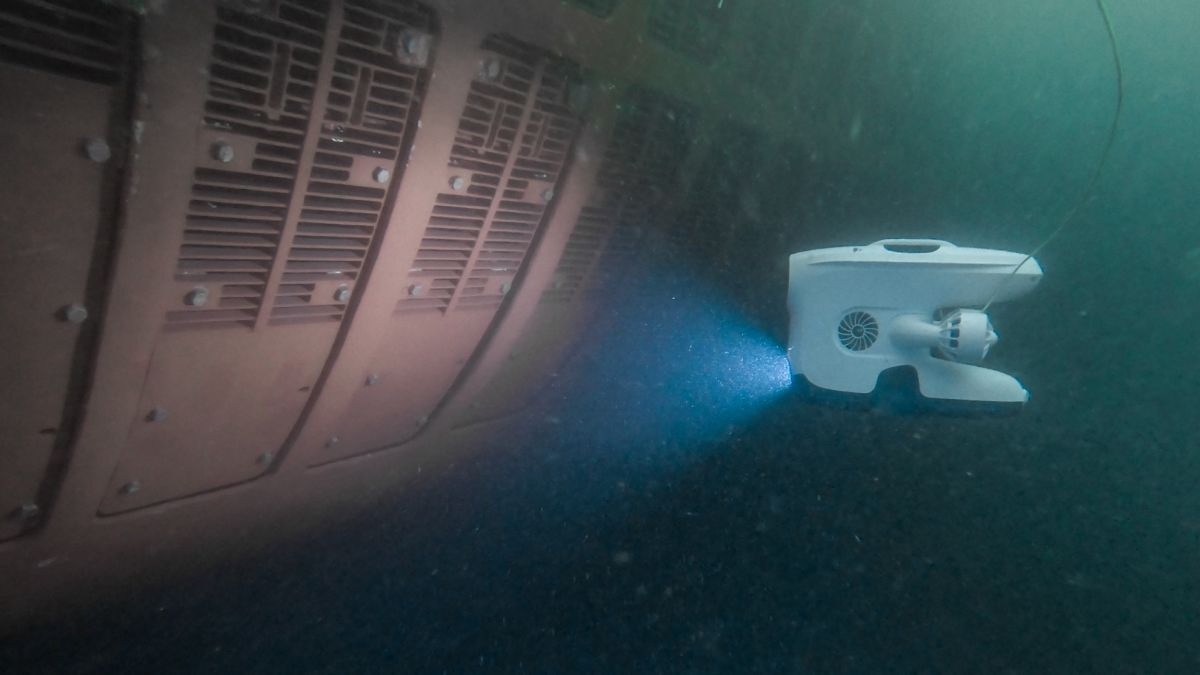 The Blueye drone provides high-quality images for underwater inspection reports (source: Blueye)