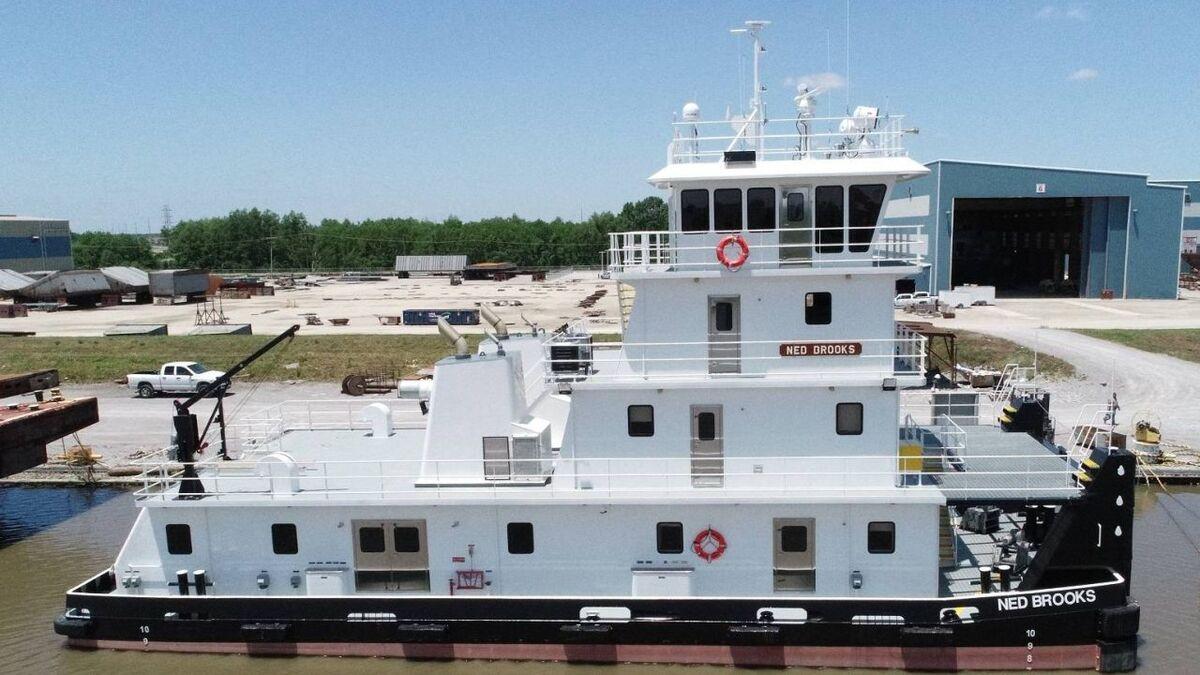 C&C Marine built towboat Ned Brooks for Maritime Partners (source: C&C Marine)