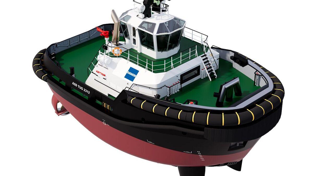 Damen will supply an ASD Tug 2312 to South32 Gemco Australia (source: Damen)