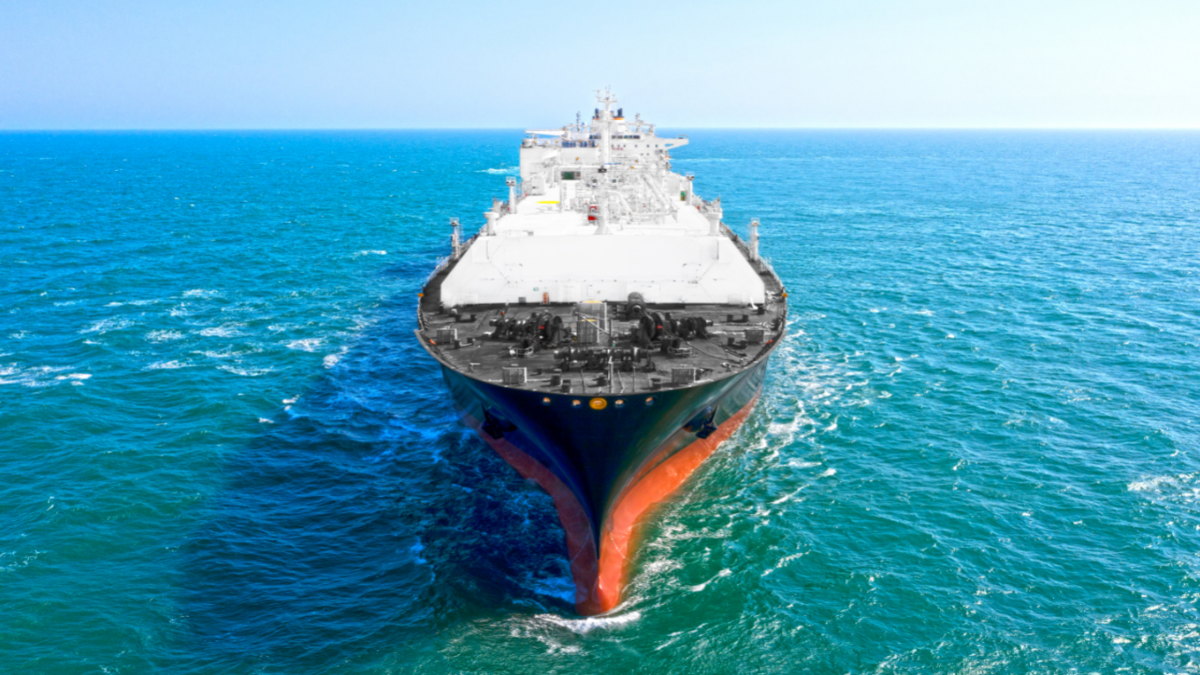 Diamond Gas Crystal is equipped with a state-of-the-art WinGD dual-fuel slow-speed diesel engine (source: NYK Line)