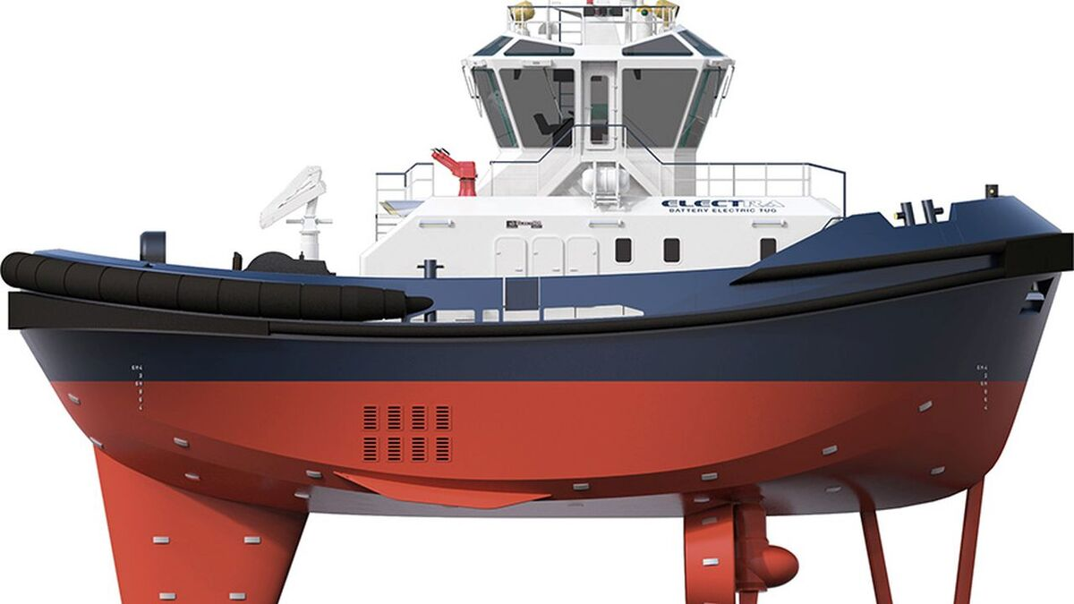 ElectRA-2600-T tractor tug design (source: Robert Allan)