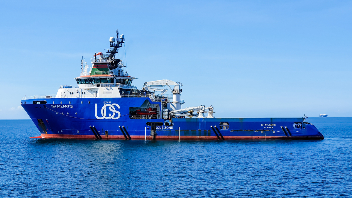 GH Atlantis will be on charter for five months in Mexico supporting a drilling campaign by Valaris 8505 (source: UOS)