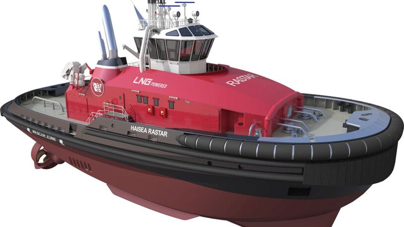 LNG and electric-powered tugboat fleet ordered