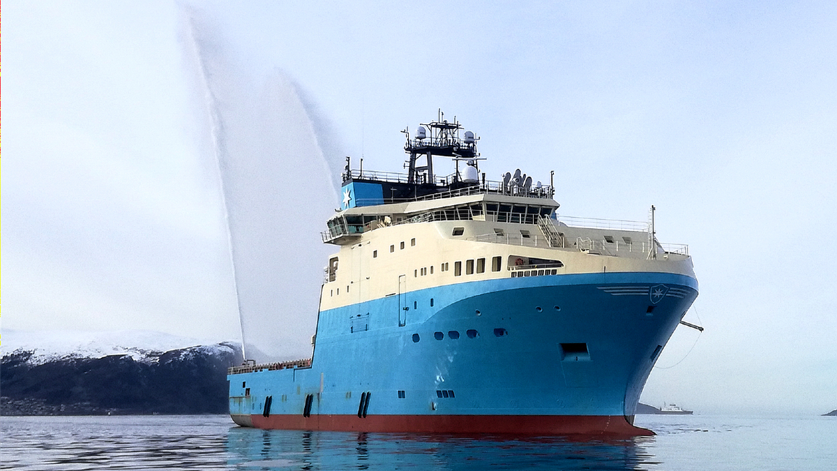 Maersk breaks new ground with battery installation in AHTS vessel