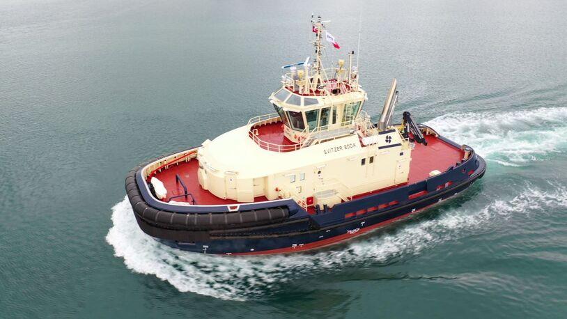 Svitzer receives second ice-breaking tug newbuild