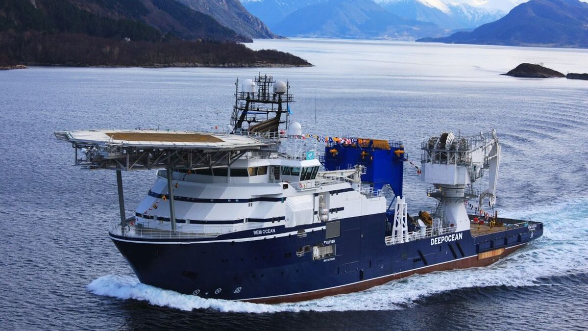 Normand Ocean (ex Rem Ocean) will be upgraded with batteries (source: Deepocean)