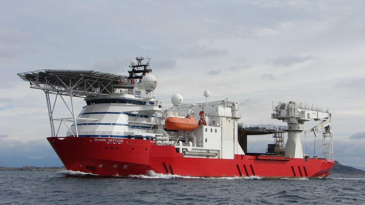 DOF Subsea is mobilising Skandi Neptune subsea support vessel to Brazil (source: DOF)