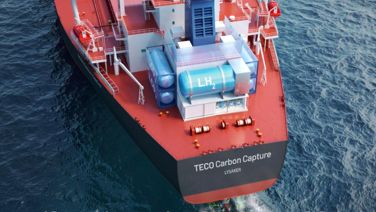 Shipboard CCS to become mainstream in five years or less