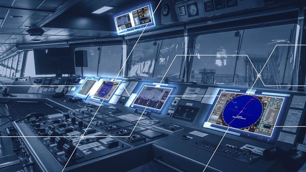 Interconnectivity of Wartsila bridge systems on LNG carriers (source: Wartsila)