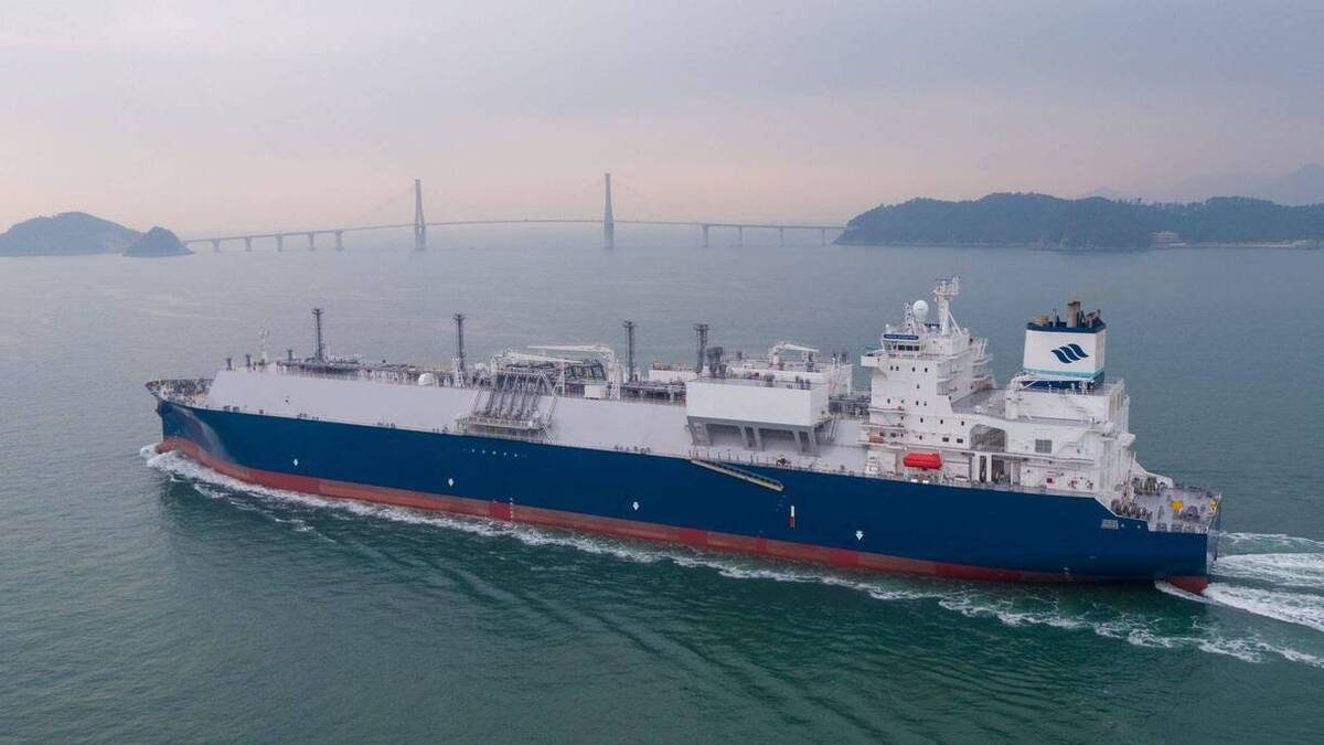 A study conducted aboard GasLog Galveston (pictured), to measure methane emissions is expected to yield dividends in the future (source: Gaslog)