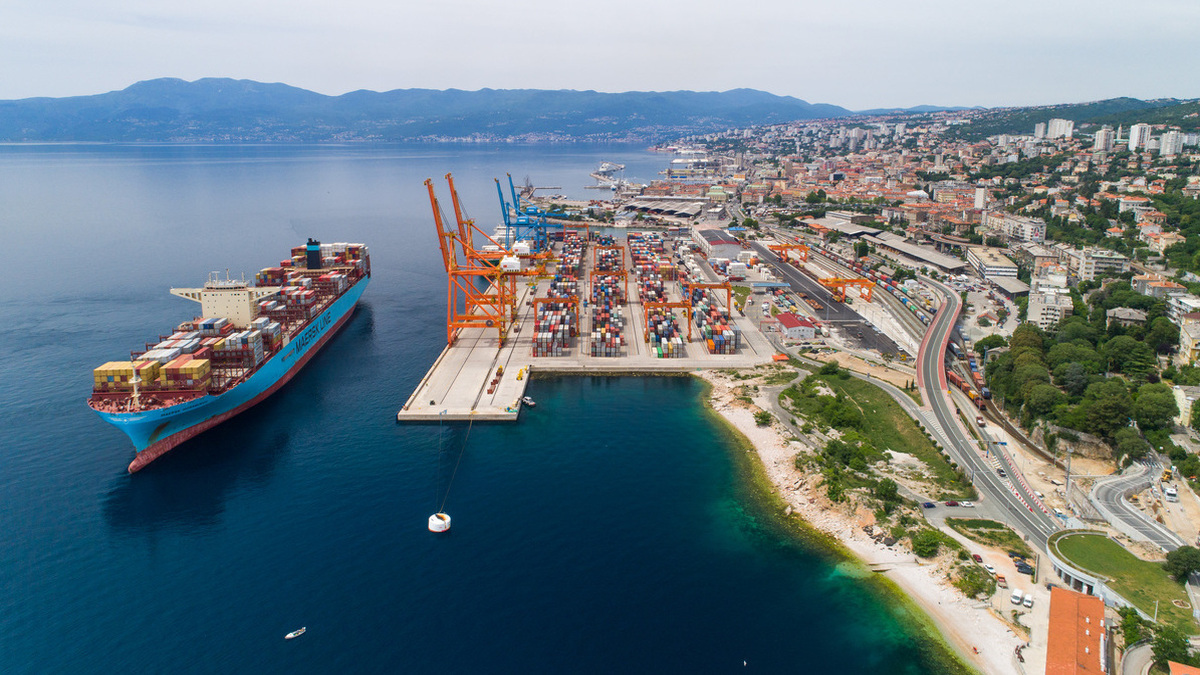 The Port of Rijeka will now sport a new vessel traffic management and information system (source: Rijeka Port Authority)