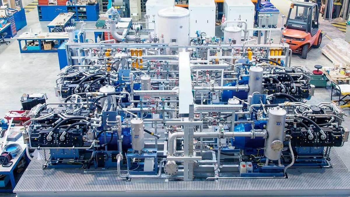 Sauer Compressors focuses on a three-stage compression design (Source: Sauer Compressors)
