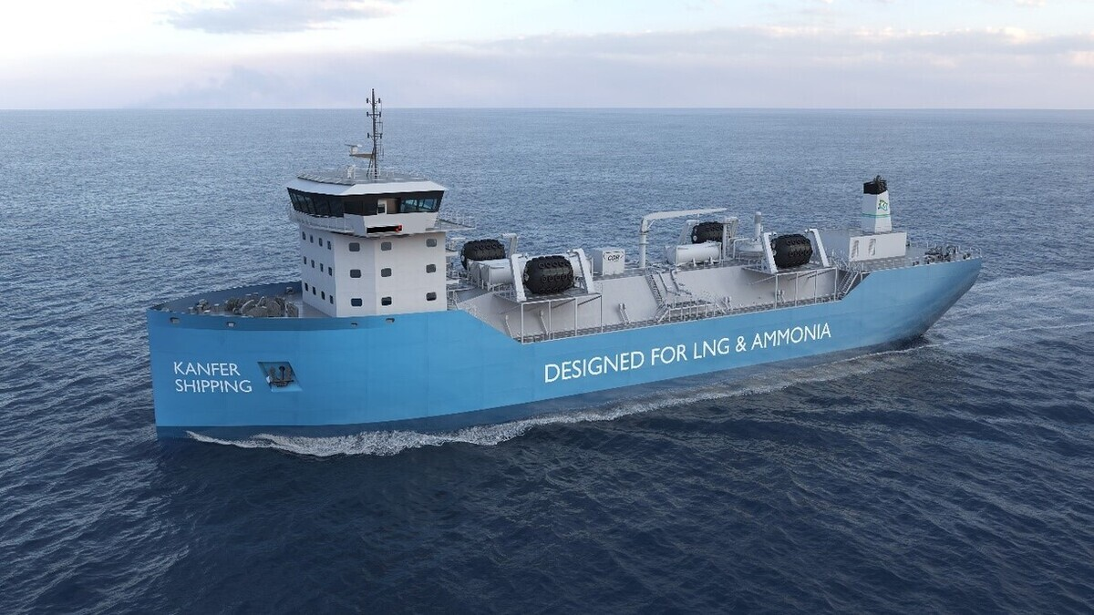 LOI signed for Australian ammonia-ready LNG bunkering vessel