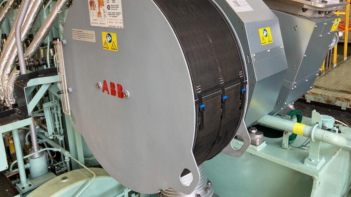 FirstABB A255-L turbocharger for Japanese-built two-stroke diesel
