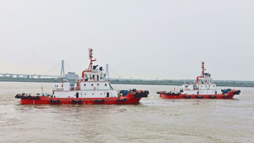 String of tug deliveries after frantic period of building