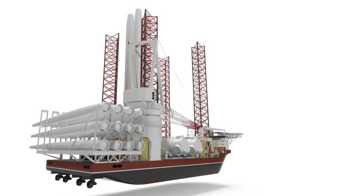 Danish designer adds to turbine installation vessel portfolio