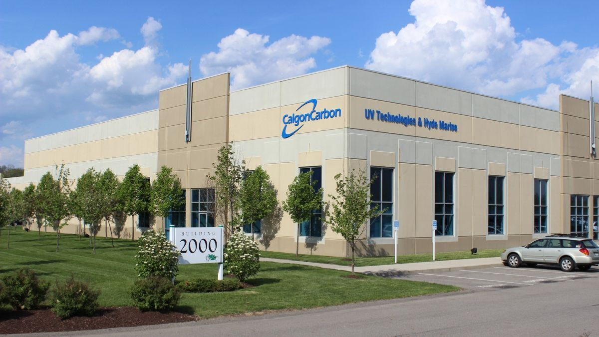 Calgon Carbon Corporation's HQ and home of Hyde Marine's Guardian-US BWMS (source: De Nora)