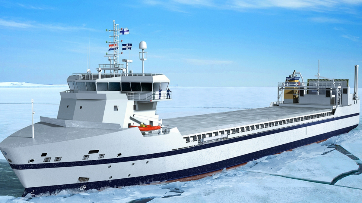 Conoship has designed a series of ro-lo ships for Finnish owner Bore that will operate on LNG (source: Conoship)