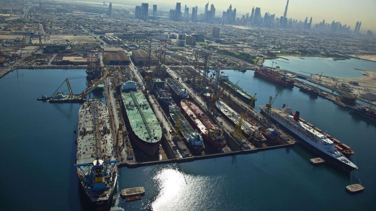 Drydocks World in Dubai will use IFS cloud for digitalisation (source: Drydocks World)