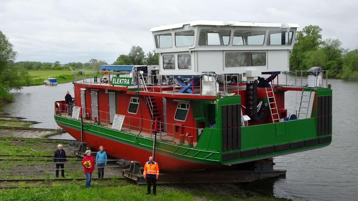 Hermann Barthel launches Elektra hydrogen-fuelled tug in Germany (source: Hermann Barthel)