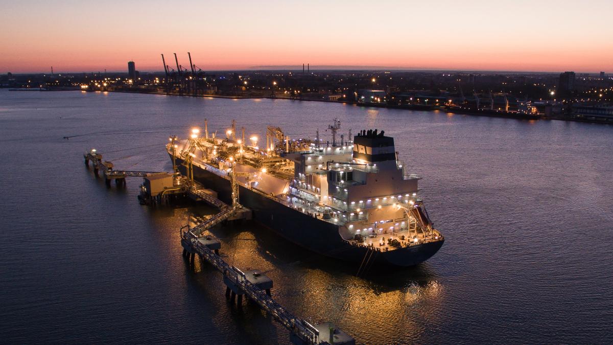 Klaipėda LNG terminal employs the FSRU Independence