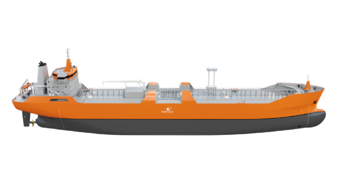 HMD is building two LNG bunker vessels that will be chartered by Shell (source: Wärtsilä)