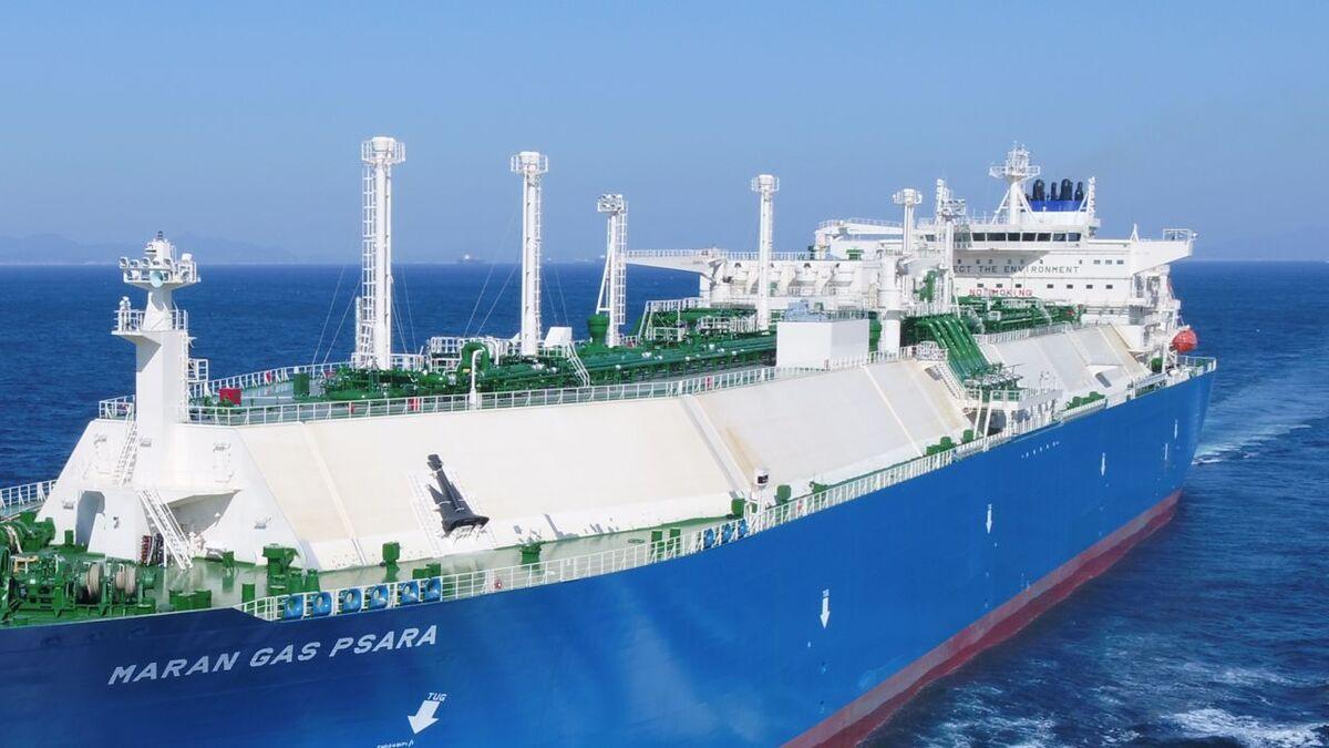 Maran Gas carrier uses K-IMS platform for continuous data visualisation (source: Maran)
